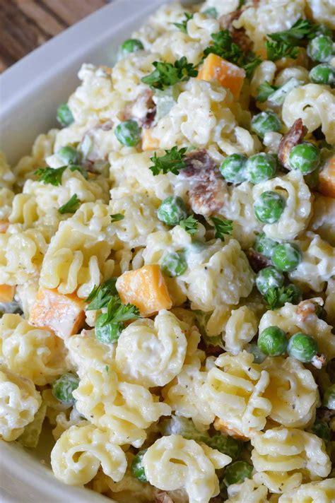 pasta salad recipe easy pasta salad recipe wonkywonderful