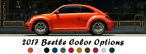paint colors for vw beetle 2017 volkswagen beetle paint color options