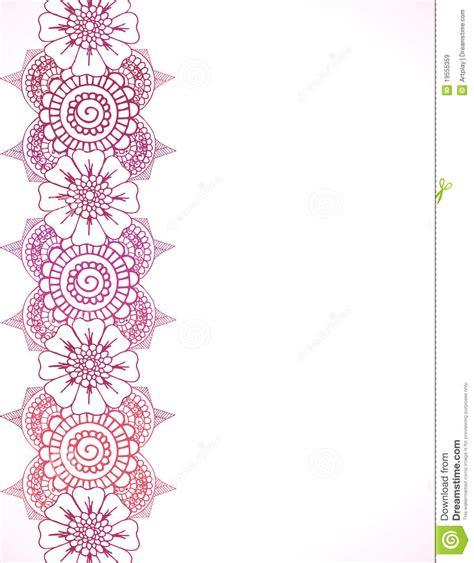 henna border royalty free stock images image 19555359