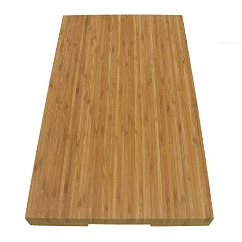 bamboomn brand jenn air bamboo range burner cover cutting board new vertical cut large 20 5