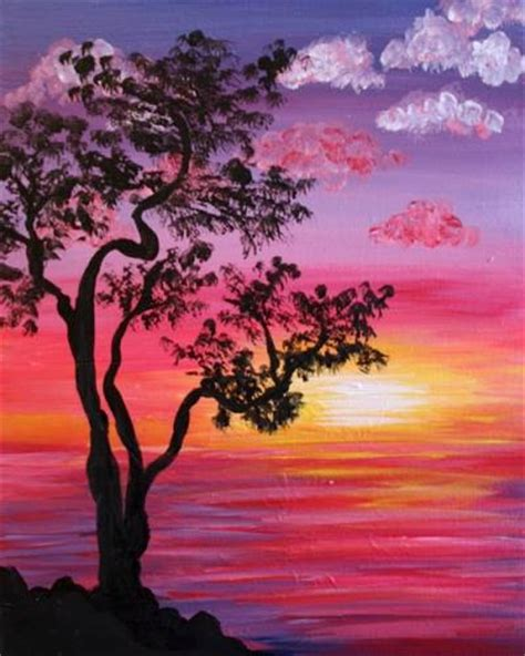 paint nite at home trending paintings september more than a buzz
