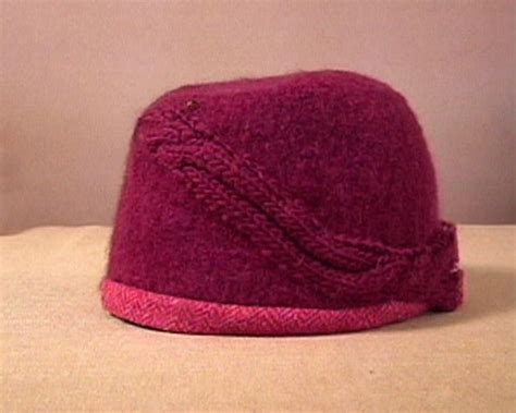 what is felting in knitting how to knit and felt a cloche hat hgtv