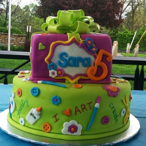 arts and crafts ideas for birthday arts and crafts birthday cake birthday ideas