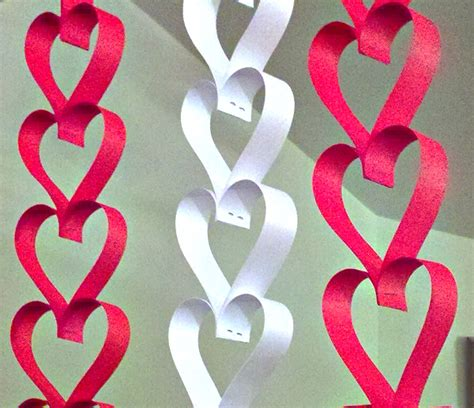 paper hearts craft simple paper crafts one thing by jillee