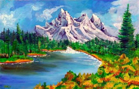 bob ross painting montage 17 best images about bob ross on trees bobs