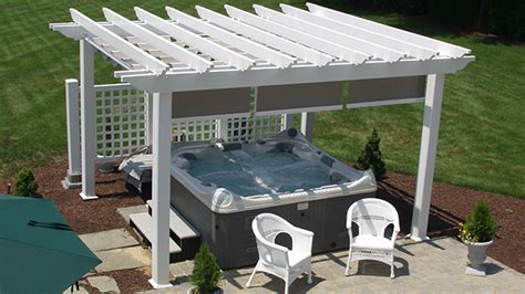 vinyl pergola kit structureworks custom pergolas and pergola kits