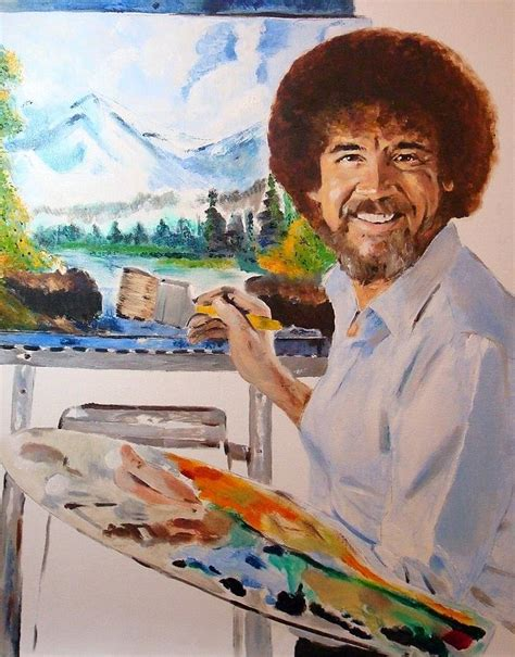 bob ross painting palette bob ross painting by debi day