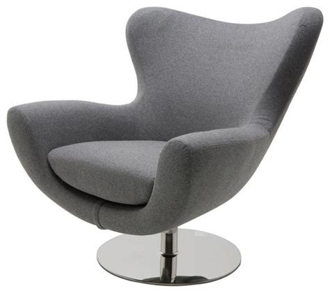 modern swivel lounge chair comfortable lounge chair with high stainless steel