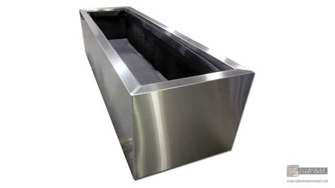 steel planter boxes planters window flower boxes copper stainless steel