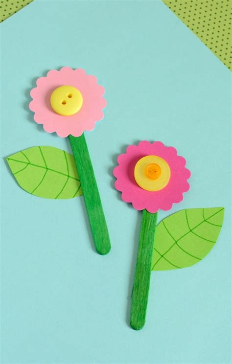 easy paper flower crafts for 25 best ideas about flower crafts on daycare