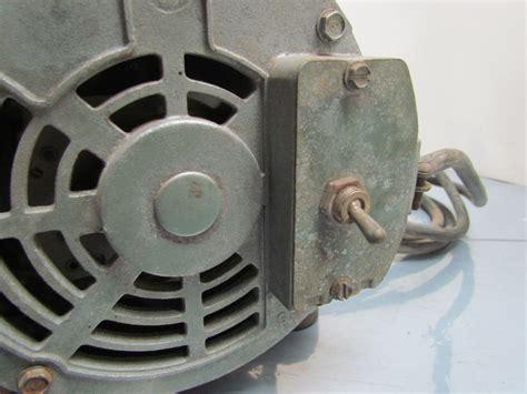 Doerr Electric Motor by Doerr Electric Lr39793 1 2hp 1ph 115 208 230 J56z Vacuum