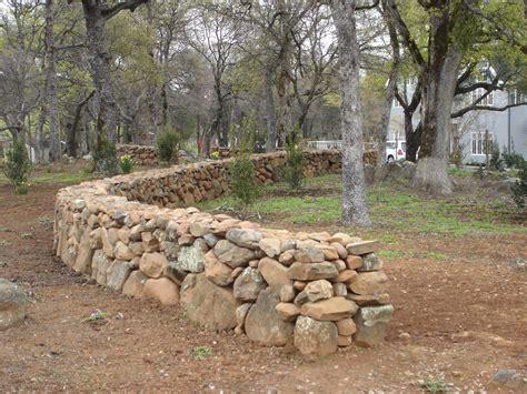 garden wall stones the spirit of the place california school of garden design
