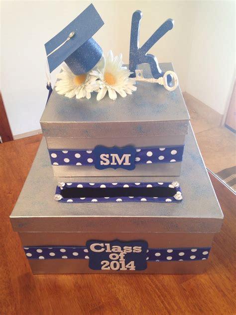 how to make a graduation card box best 25 graduation card boxes ideas on grad