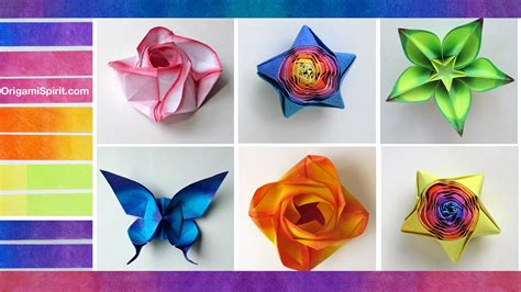 colored origami paper how to color paper for origami coloreado de papel
