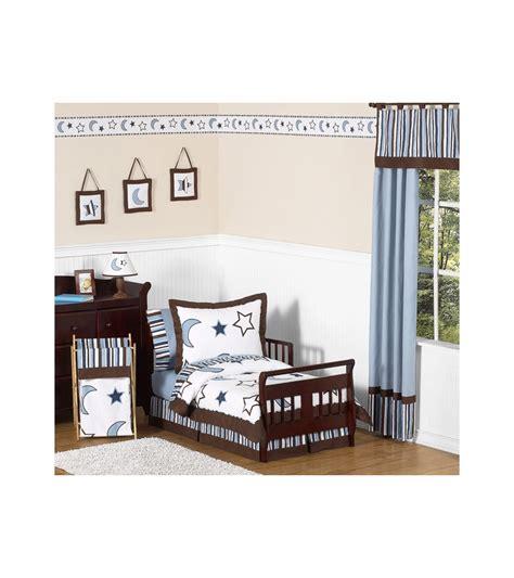 starry crib bedding set sweet jojo designs starry toddler bedding set