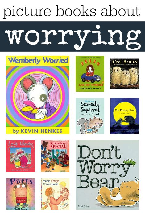 picture book for children picture books about worrying no time for flash cards