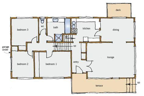 split level floor plans 1970 house plans and design house plans nz split level
