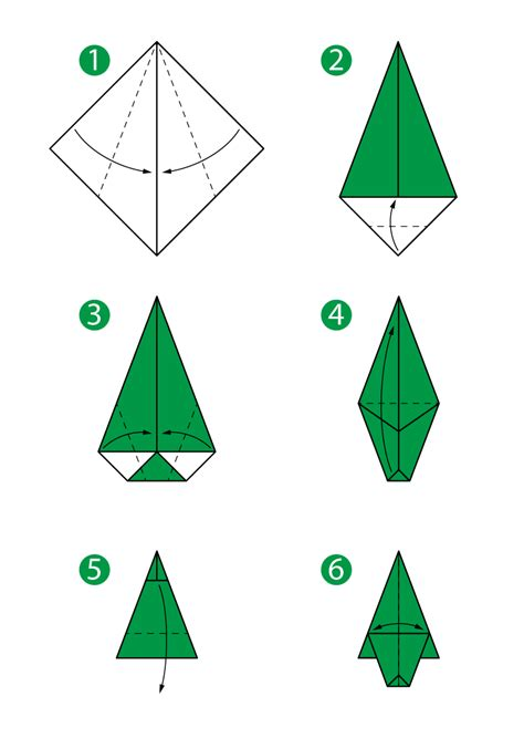 how to fold an origami tree origami tree