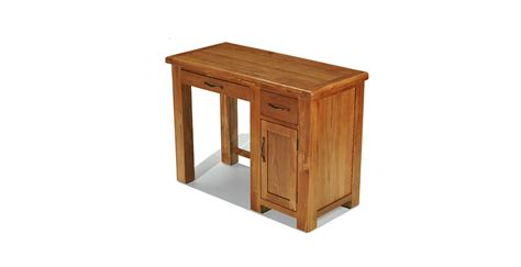 oak desk emsworth oak single pedestal computer desk lifestyle