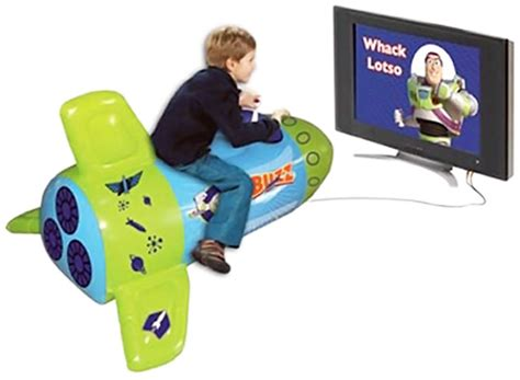 Toy Story Inflatable Ride On Rocket Video Game