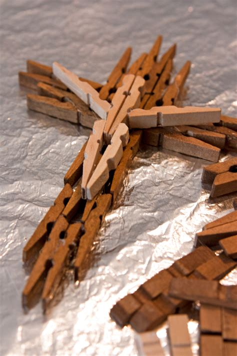 wooden clothespin crafts for wooden clothespin cross muy bueno cookbook