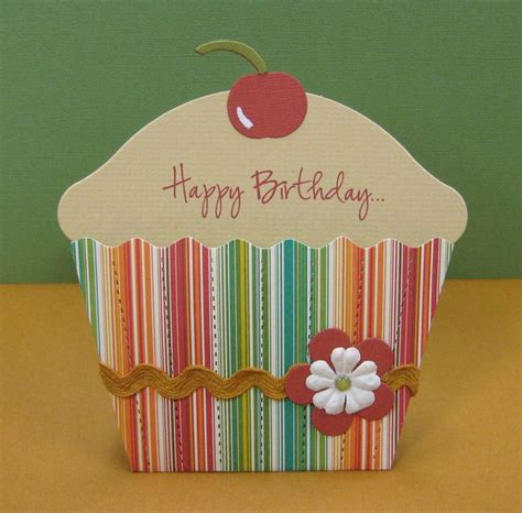 cupcake cards to make geer fields you could make birthday