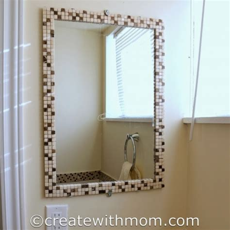 decorating ideas for bathroom mirrors 9 cool and simple diy bathroom mirrors to make shelterness