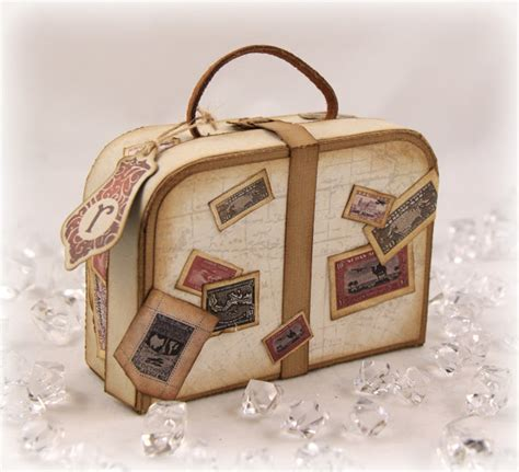 origami suitcase st talk with tosh money filled vintage suitcase