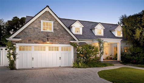garage door to house craftsman style garage doors homesfeed