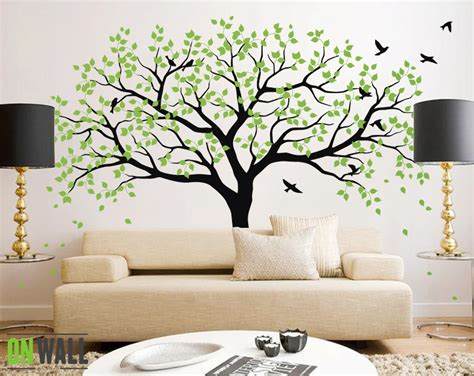 large nursery wall decals large tree wall decals trees decal nursery tree wall decals