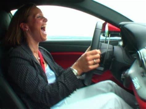 Vicki Fifth Gear by F12 Berlinetta Drives Vicki Mad Fifth Gear