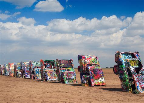 The Cadillac Ranch by Cadillac Ranch 32 Surreal Travel Spots You Won T Believe