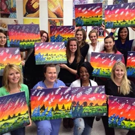 paint and twist dallas painting with a twist paint sip park
