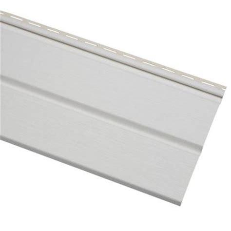 home depot paint vinyl siding cellwood economy 5 in white solid vinyl soffit