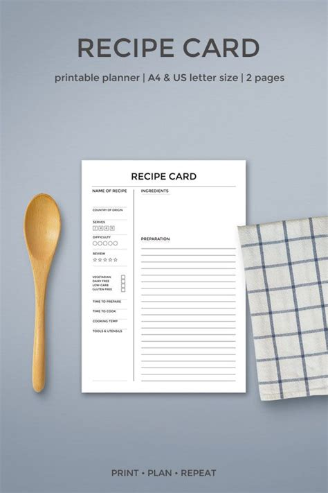make a recipe card best 20 cookbook template ideas on cookbook