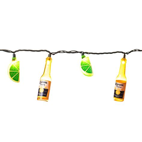 corona string lights corona bottle lights