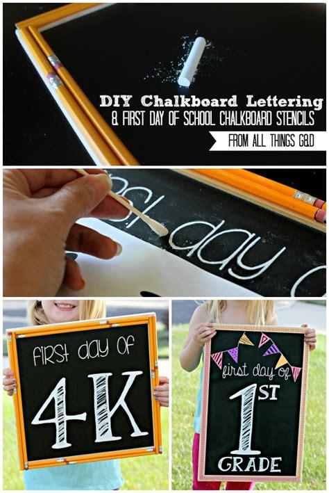 diy chalkboard sign template easy chalkboard lettering tutorial
