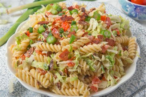 pasta salad recipe blt pasta salad recipe food