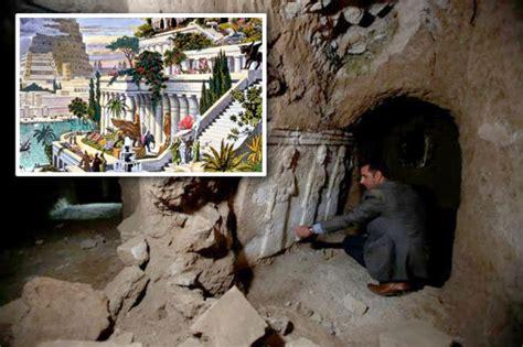 Garden Of Iraq Hanging Gardens Of Babylon Found Explosion Reveals