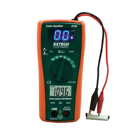 home depot paint tester extech instruments cable identifier tester kit ct40 the