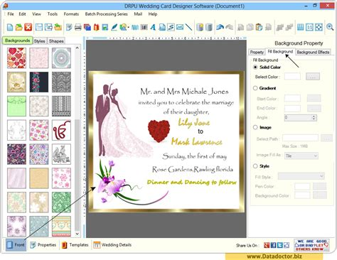 make a free card wedding card designing software design beautiful
