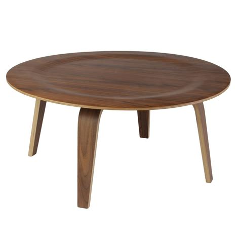 plywood coffee table replica eames moulded plywood coffee table