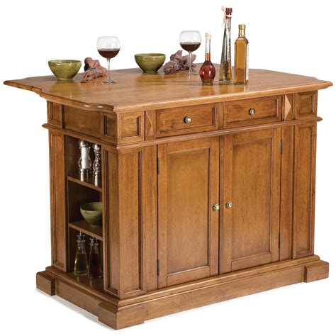 home styles kitchen island with breakfast bar home styles cottage oak kitchen island with breakfast bar cottage oak 172166 kitchen
