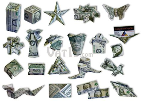 dollar folding origami money origami set learn to create 21 origami designs