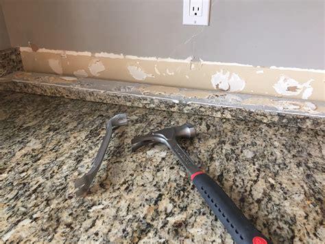 Metal Backsplash For Kitchen do it yourself brick veneer backsplash remington avenue