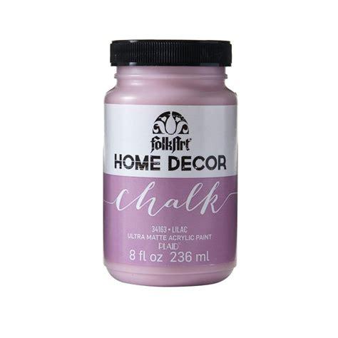 home depot chalk paint folkart home decor 8 oz lilac ultra matte chalk finish