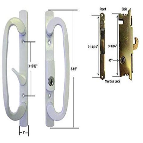 patio door lock repair sliding glass door handle repair sliding glass door