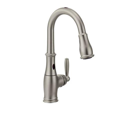 moen kitchen faucets 7185esrs moen brantford series free kitchen
