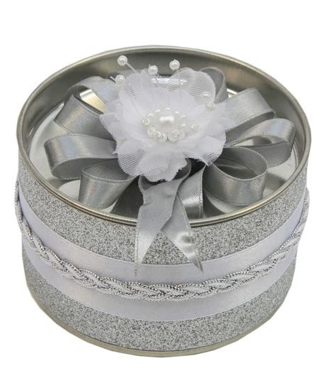 xclusive spray painting recuerdo para bodas bote con dulces color plata boda