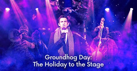 groundhog day broadway coming soon to broadway groundhog day the musical